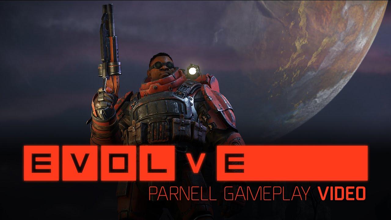 Evolve: Parnell im Gameplay-Video