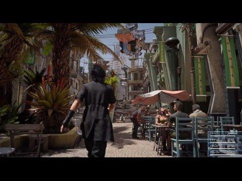 Final Fantasy XV Demo mit englischer und japanischer Sprachausgabe