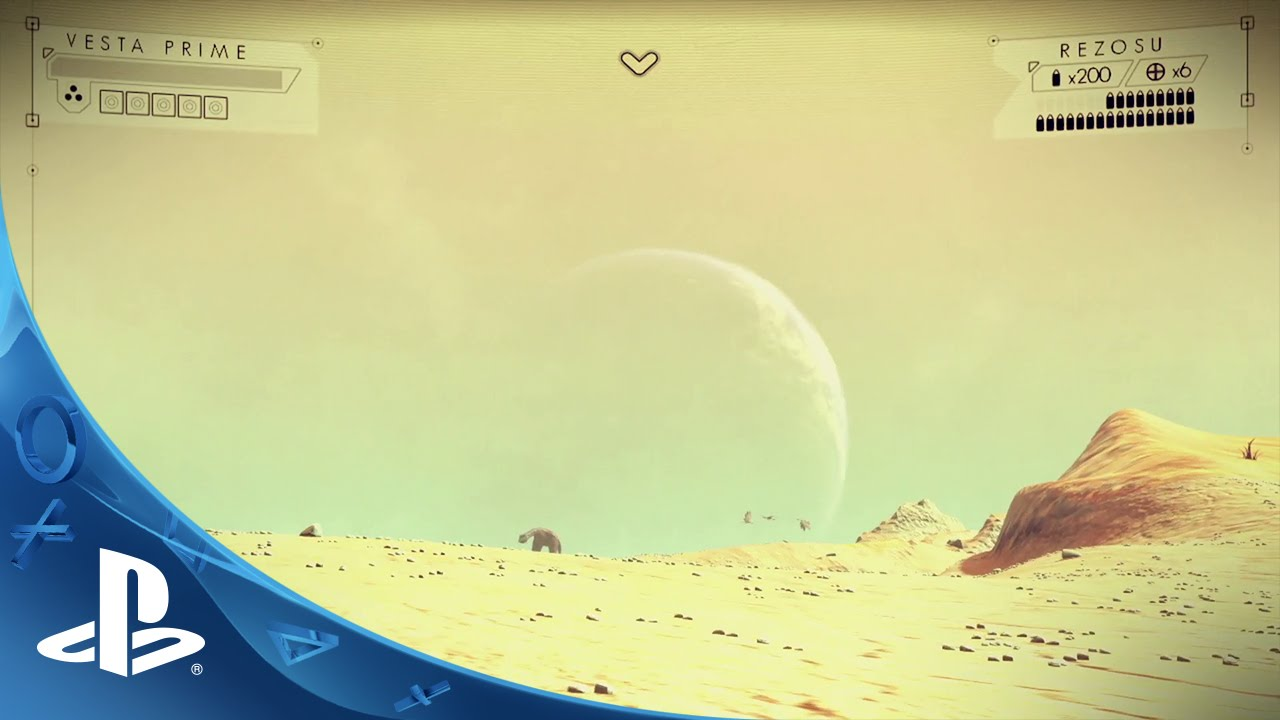 PlayStation Experience: No Man's Sky Videoamterial