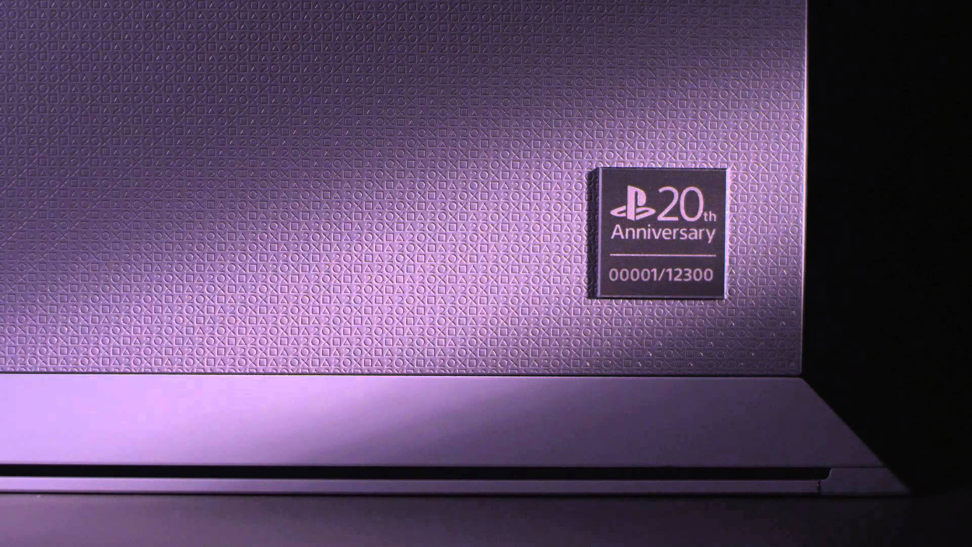 PlayStation wird 20, limitierte PS4 Jubiläums-Edition kommt