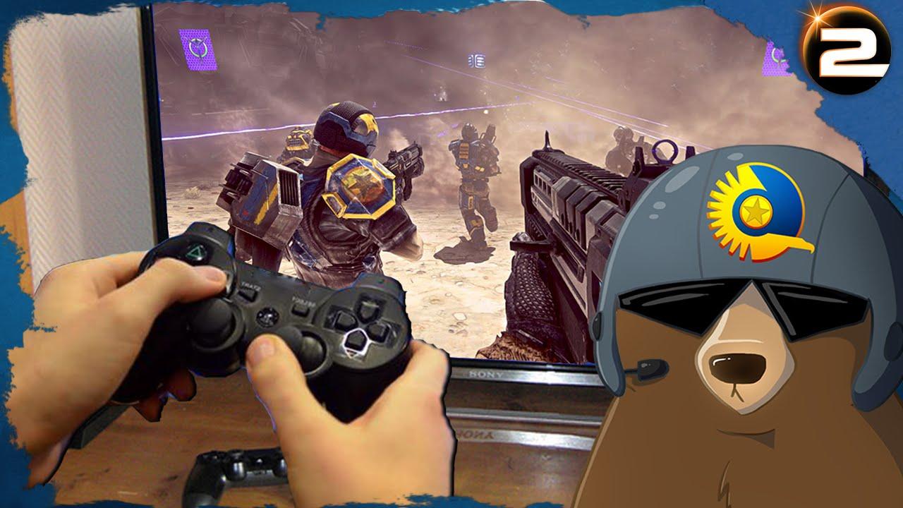 So sieht Planetside 2 auf der PlayStation 4 aus