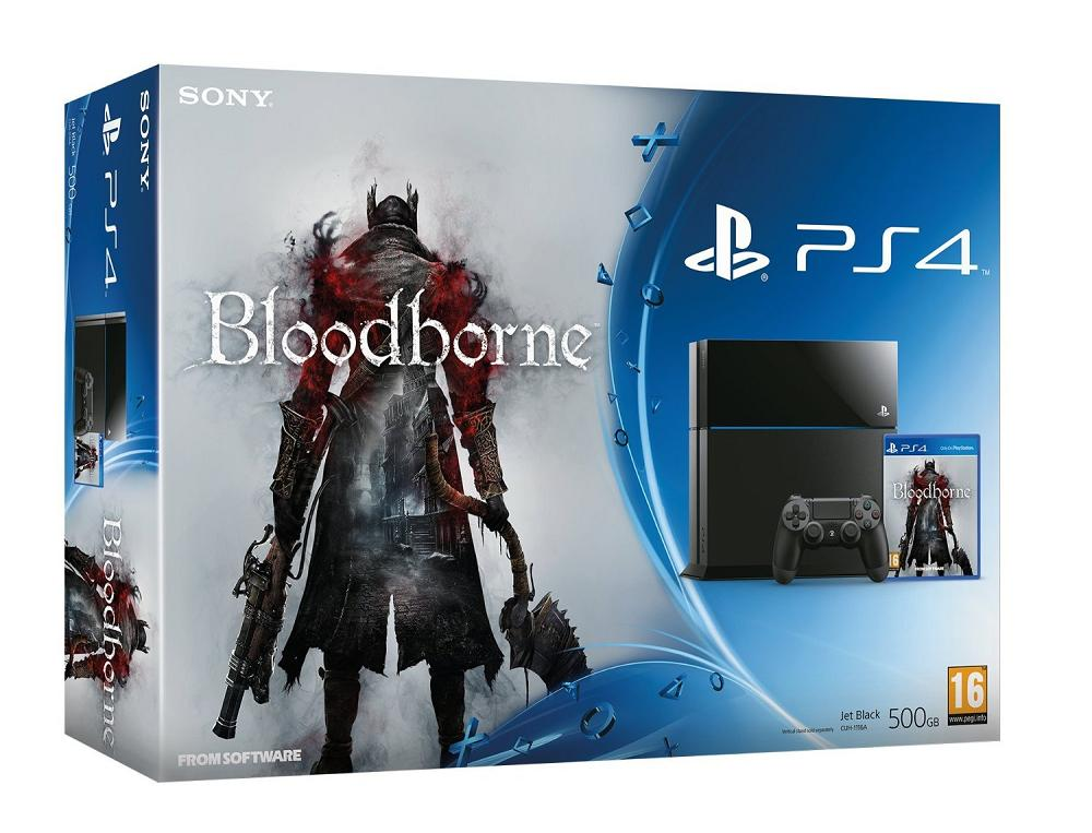 PlayStation 4 Bloodborne Bundle aufgetaucht