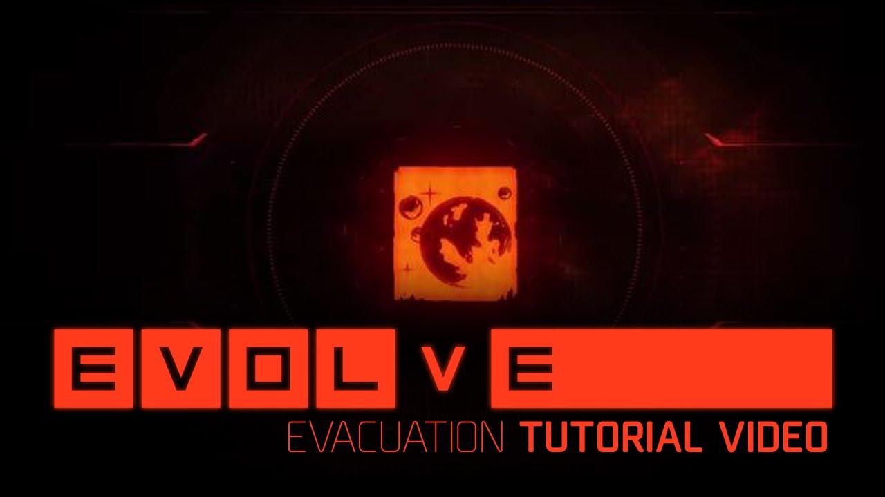 Evolve: So sieht der Evakuierungsmodus aus