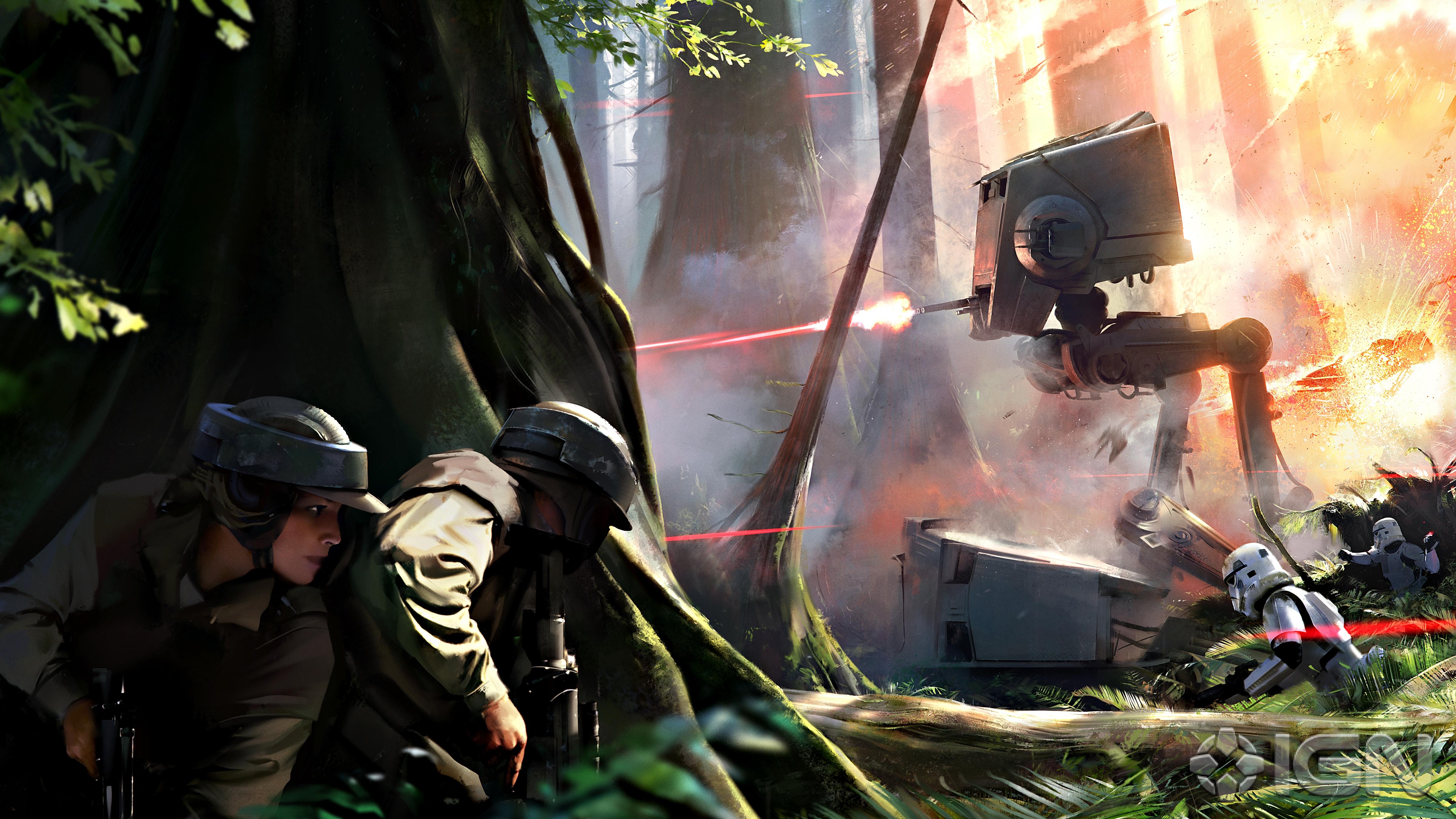 Star Wars Battlefront Konzeptzeichnung aufgetaucht