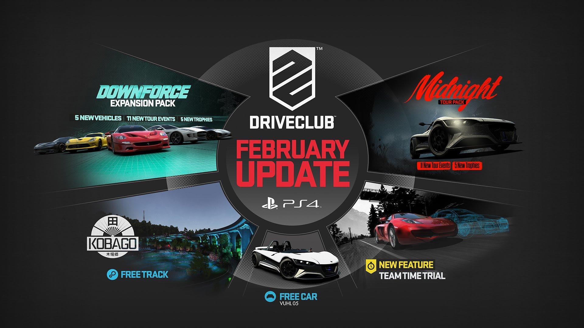DriveClub: Die neuen Inhalte im Februar