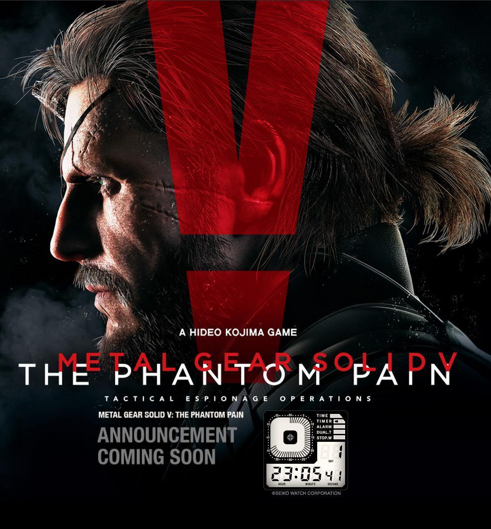 Metal Gear Solid 5 The Phantom Pain Erscheinungstermin am Mittwoch?