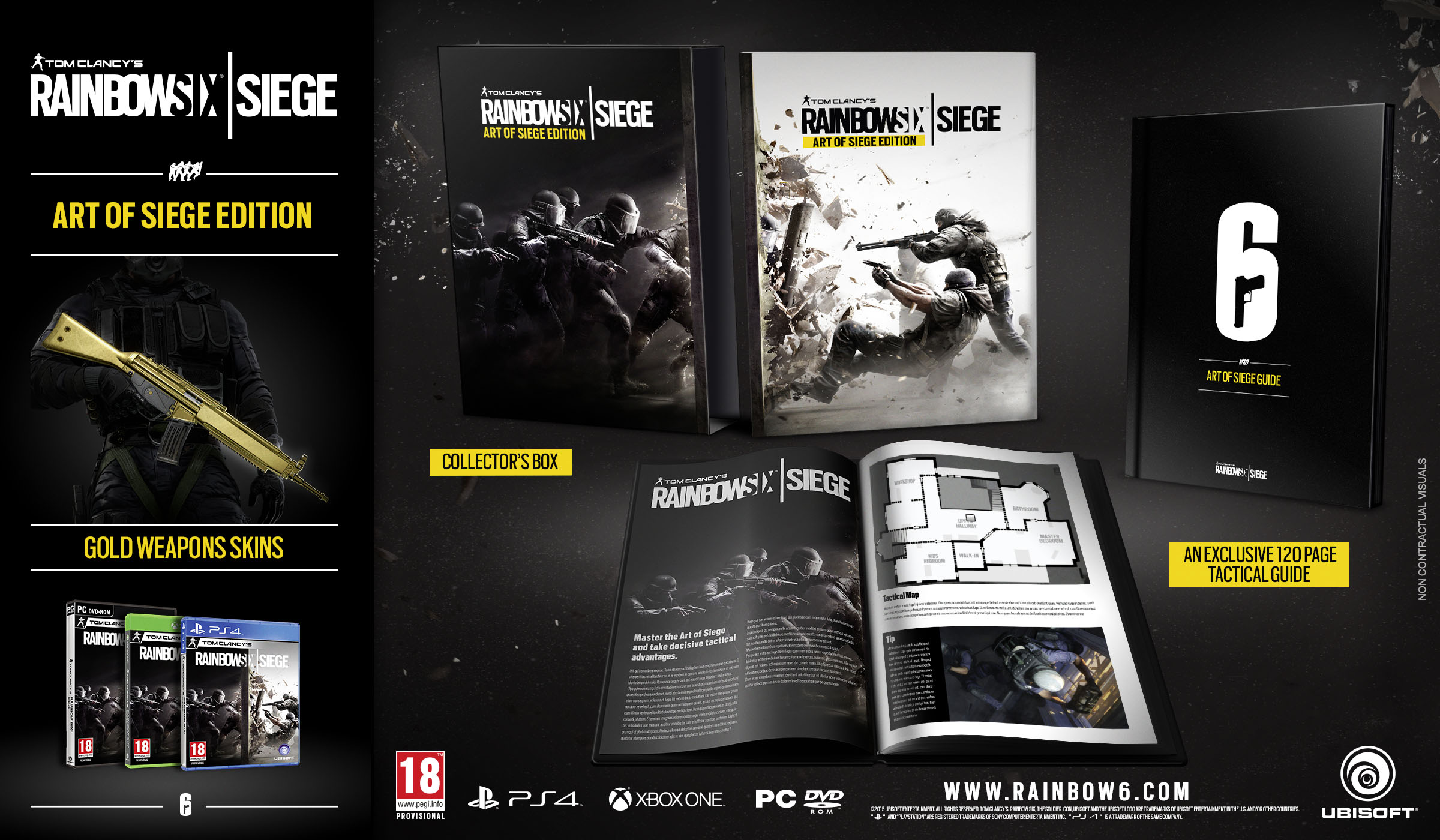 Rainbow Six Siege Collector's Edition vorgestellt