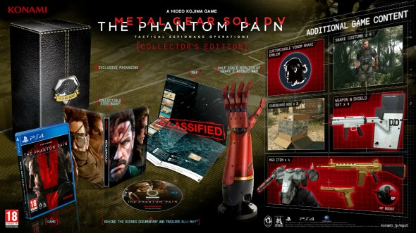 Metal Gear Solid 5 The Phantom Pain Collector's Edition vorgestellt