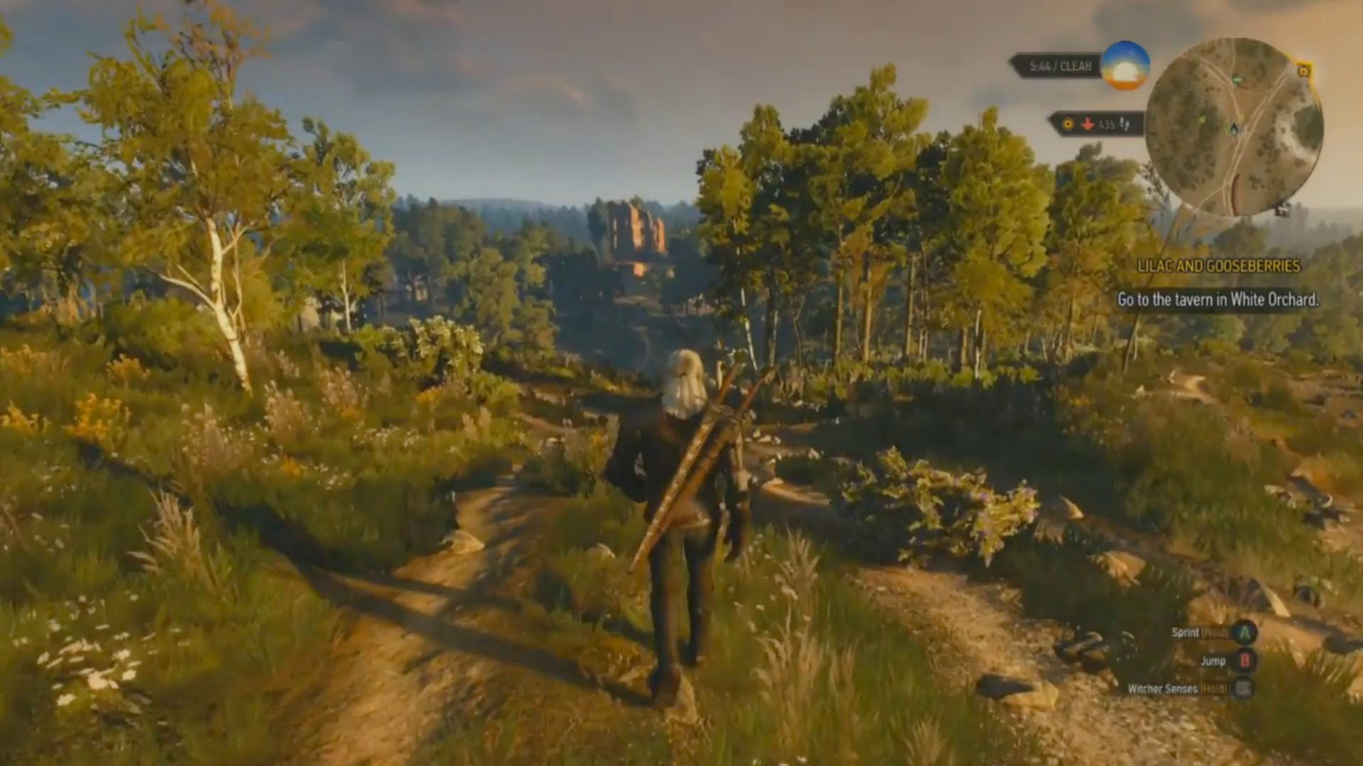 The Witcher 3 Wild Hunt GDC Gameplay-Video