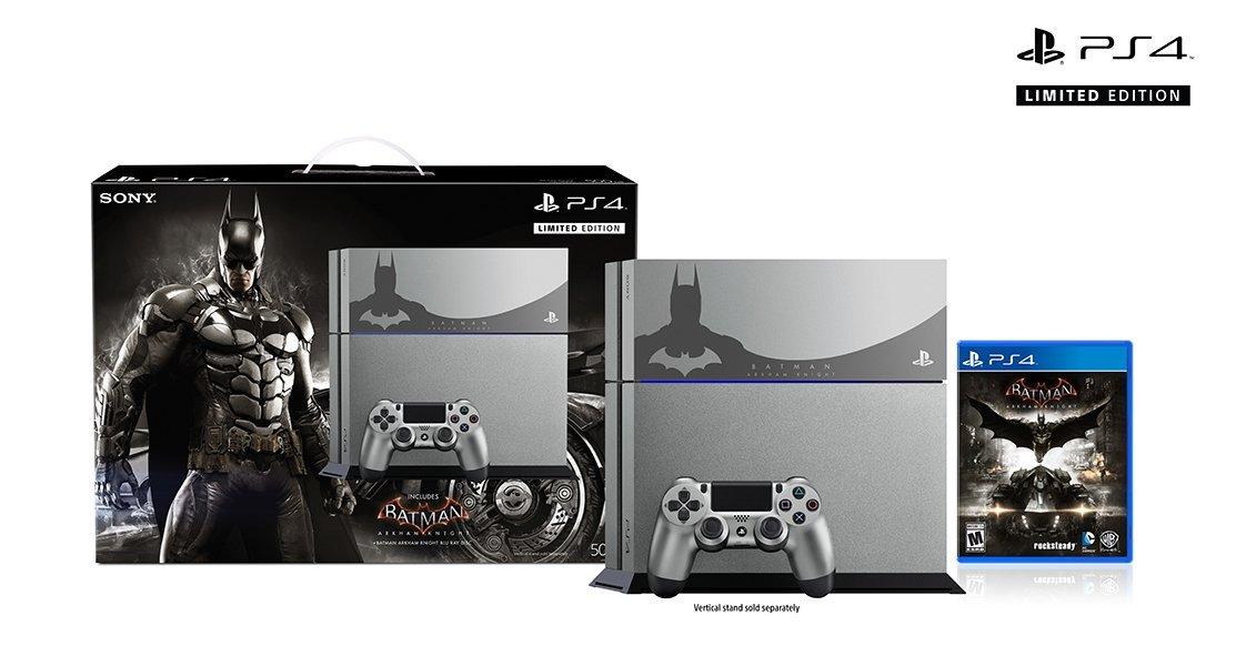 So sieht die Batman Arkham Knight PS4 Limited Edition aus