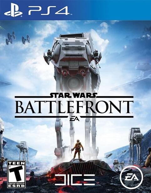 Star Wars Battlefront PlayStation 4 Boxart