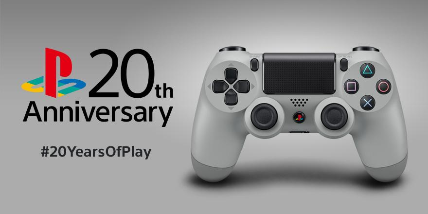 DualShock 4 Controller in der 20th Anniversary ab September im Handel