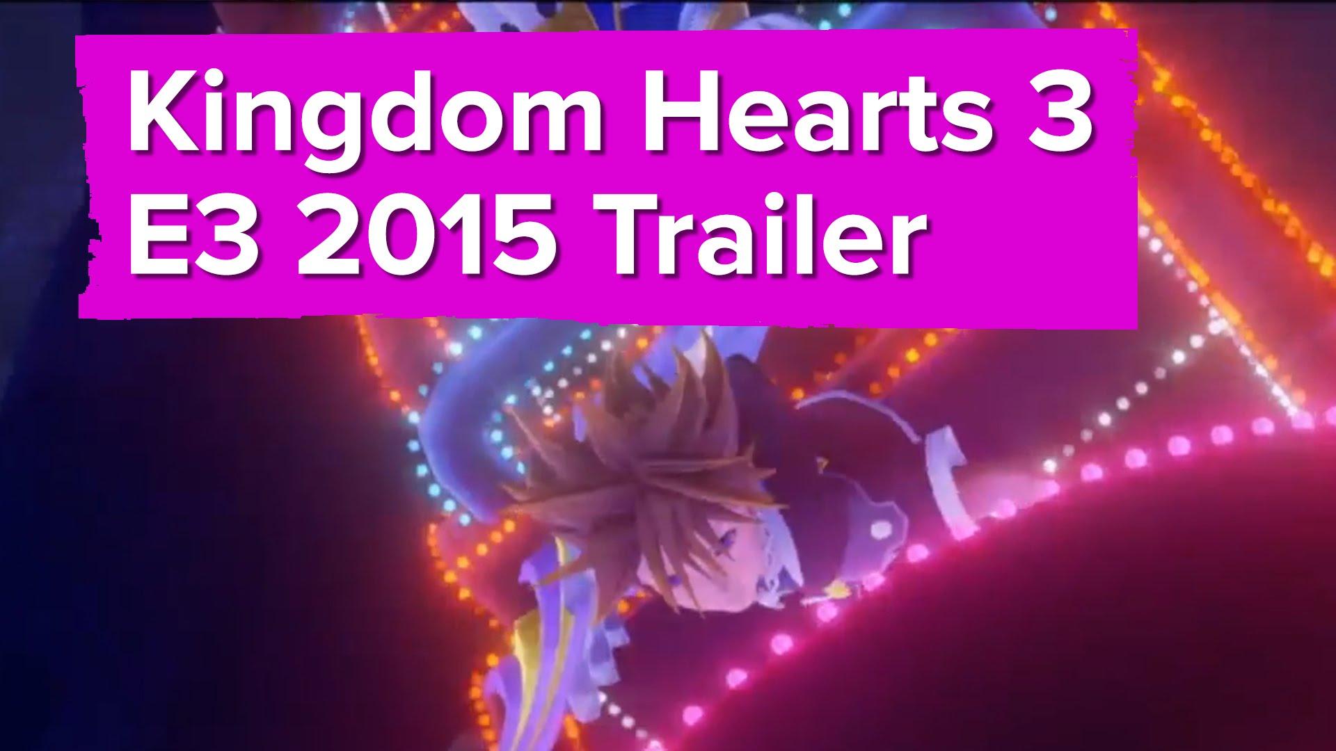 Neuer Gameplay-Trailer zu Kingdom Hearts 3