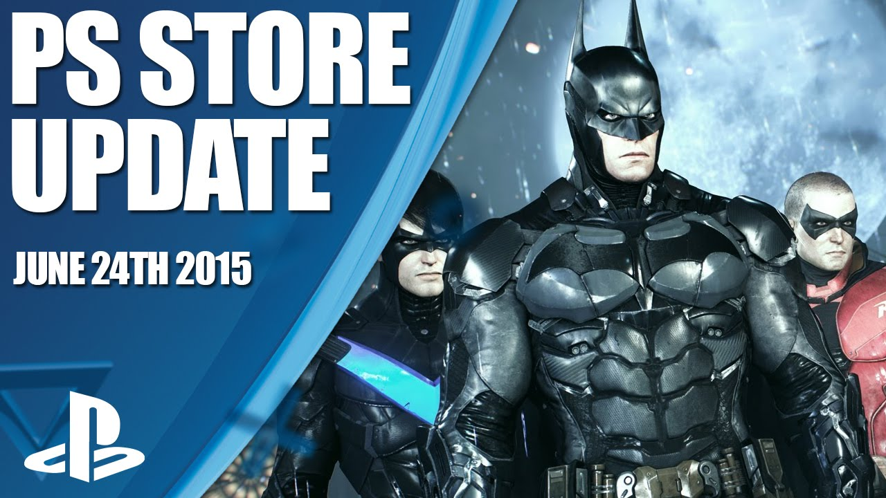 PlayStation Store Update mit Batman Arkham Knight, Planetside 2 uvm.