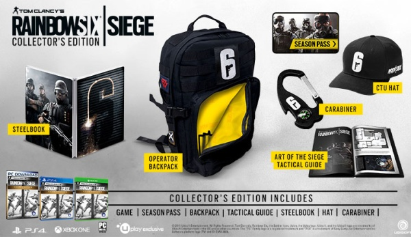 Rainbow Six Siege Collectors Edition